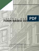 Central West End Form Based District - Comprehensive Plan