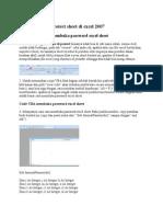 Cara Membuka Protect Sheet Di Excel