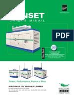 Genset Installation Manual.