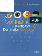 Ophthalmology; Investigation and Examination Techniques-0750675861