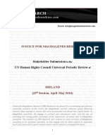 JFMR Report to UPR 21.9.15