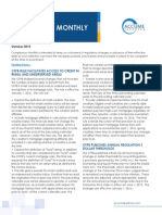 Accume October 2015 Compliance Monthly