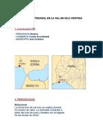 Extracción Artesanal de La Sal en Isla Cristina
