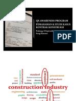 Pemahaman Dan Studi Kasus Kontrak Konstruksi