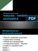 Prezentare inductie si inhibitie enzimatica
