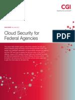 Cgi Cloud Security Federal Agencies