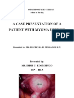 Myoma overview, bibliography and objectives