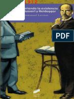 LEVINAS, EMMANUEL - Descubriendo La Existencia Con Husserl y Heidegger