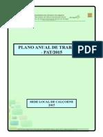 Plano Anual de Trabalho Pat 2015 Calçoene