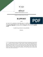 Rapport Sénatorial
