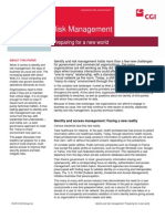 Identity and Risk Management White Paper