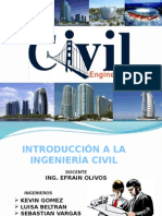 Introducción a La Ing. Civil