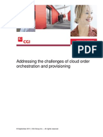 Cloud Provisioning White Paper