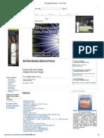 Mercado, V. (2008). Estrategias Educativas