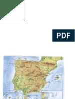 Mapa Relieve de España