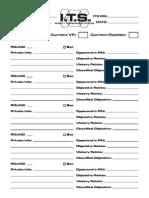 [en]League Control Sheet