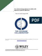 nsaids minimal change disease