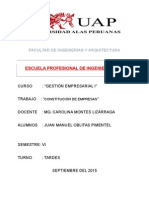 Monografia Constitucion de Empresas
