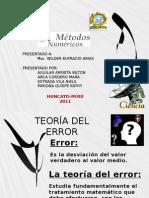 Teoria Del Error