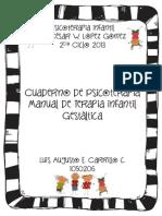 Cuaderno de terapia infantil