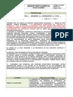 GUÍA DE IDENTIFICACIÓN DE ACTIVIDADES ( N° 1 ) 2015 SEMINARIO V ÉTICA PROFESIONAL  DOCENTE CARMENZA SALINAS G - copia