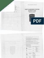Durómetro Hartip 1500 Operation Manual