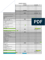 Concreto i - Cronograma Aulas 1o Semestre - 2013