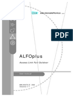 ALFOplus User Manual - MN.00273.e ED2
