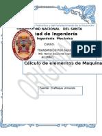 TRABAJO-Calculo y Diseño de Elementos de Maquinas II