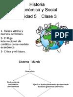 El flujo  internacional de créditos como modelo económico.