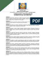 Programa Fabricación y Reparación de Elementos Del Automotor 6º Año