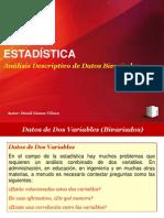 Análisis de Datos Bivariados 2012