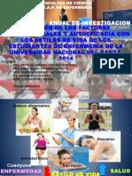 Exposicion Convencion de Investigacion 2014