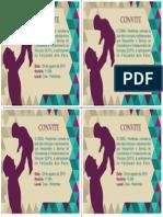 Convite- Dias Dos Pais