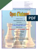 Open Autunno 2015