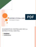 Estructura Grupal II