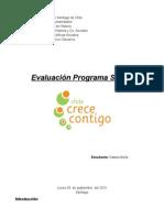 Evaluación Programa Chile Crece Contigo