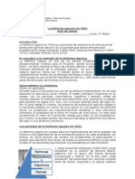 Guía 3°M, la Reforma Agraria en Chile