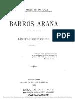 Límites Con Chile. (1898)