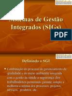 Sistemas de Gestao Integrados