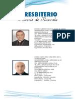 Directorio Del Presbiterio de La Diócesis de Tlaxcala