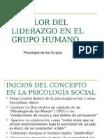 Liderazgo en Psicología Grupal