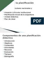 Planificacion y Secuencias Didacticas
