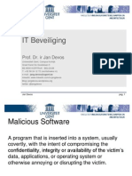 ITSec Malicious Software