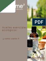 Uso Aceites Esenciales Florame aromaterapia