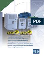 WEG Cfw 08 a Frequency Inverter Manual 0899.5242 Manual PT