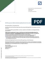 Pk-kredit Finanzierung-db International Kontoeroeffnungsantrag Fuer Auslaendische Studenten Ab Achtzehn Jahre
