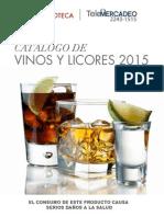 Catalogo Vinoteca 2015