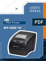 Manual Bematech mp 4000 th fi