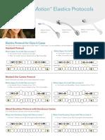 Carriere® MotionTM Elastics Protocols